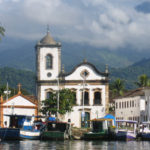 Location of Casa Cairucu, Paraty